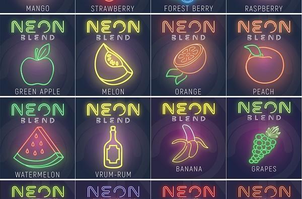 вкусы табака Neon Blend