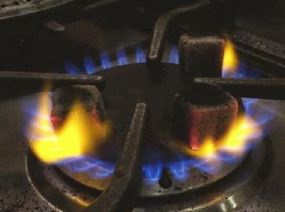 как разогреть уголь для кальяна на газовой плите