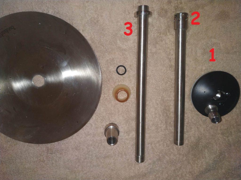инструкция по кальяну сборка частей