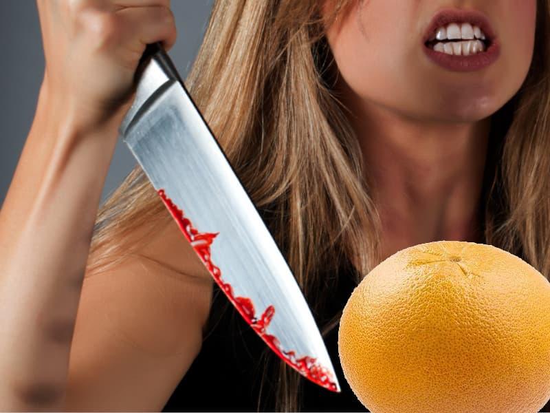 как сделать кальян на грейпфруте