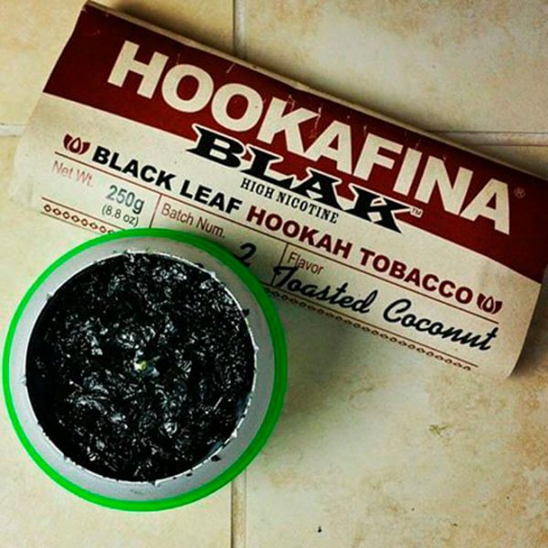 Hookafina Blak табак для кальяна